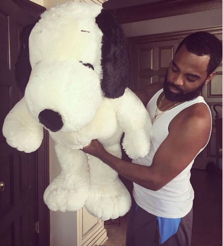 Tood with Snoopy
