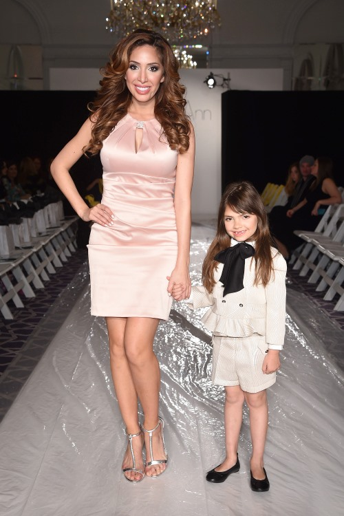 New York Fashion Week - Farrah and Sophia Abraham