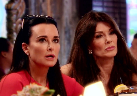 Lisa Vanderpump Shades Kyle Richards After Kyle Is Asked About Lisa Skipping Andy Cohen's Baby Shower