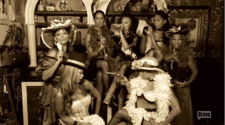 Cast-OldTimePhoto-BW-Real-Housewives-of-Potomac