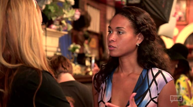 Katie-Rost-BlueBlackDress-Real-Housewives-of-Potomac