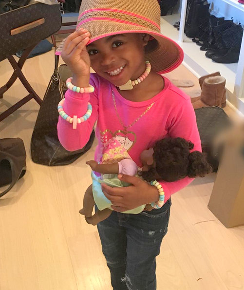 Reality TV Stars family pics - NeNe Leakes grandaughter Bri'Asia
