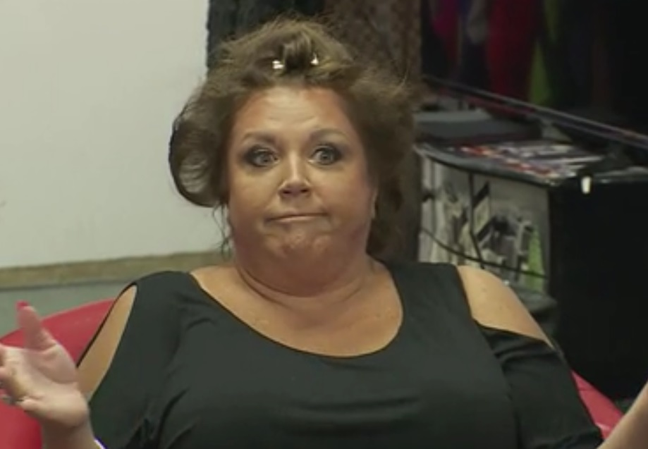 Abby Lee Miller scared