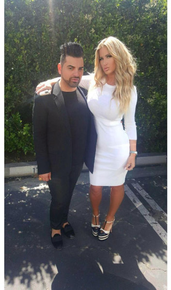 Kim Zolciak with publicist