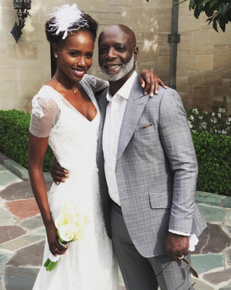Peter Thomas' daughter gets married