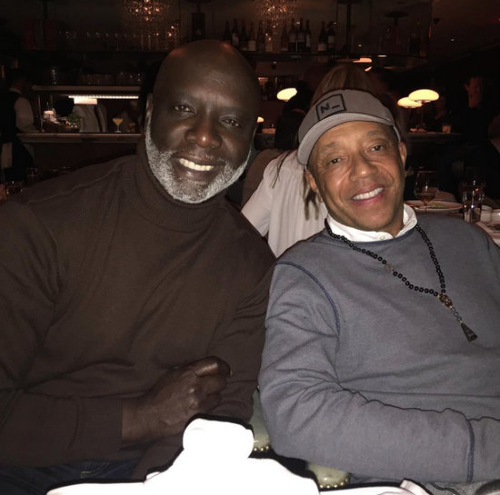 Russell Simmons and Peter Thomas