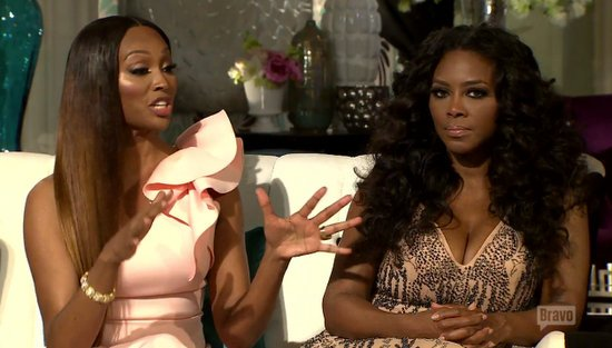 Cynthia Bailey and Kenya Moore
