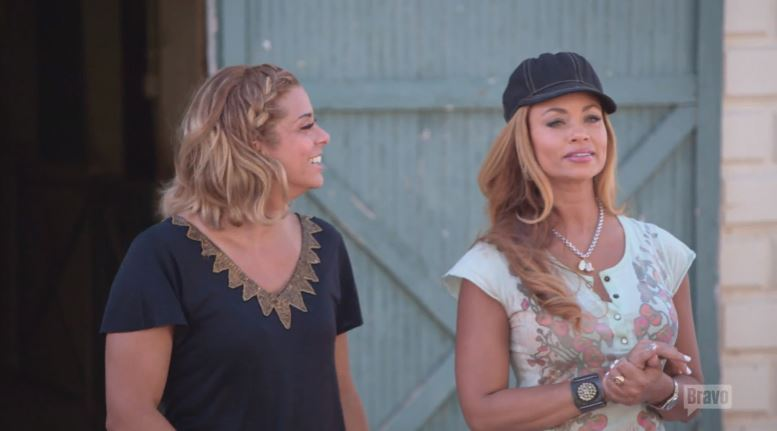 Robyn-Dixon-Gizelle-Bryant-Stables-Real-Housewives-of-Potomac