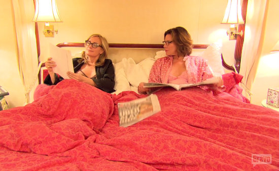 Luann and Sonja as roommates