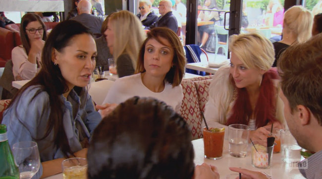 Brunch with Bethenny, Dorinda, and Jules