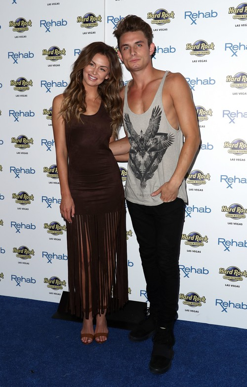 Stars from 'Vanderpump Rules' host party at Rehab Beach Club in the Hard Rock Hotel and Casino in Las Vegas Featuring: Lala Kent, James Kennedy Where: Las Vegas, Nevada, United States When: 30 May 2016 Credit: Judy Eddy/WENN.com