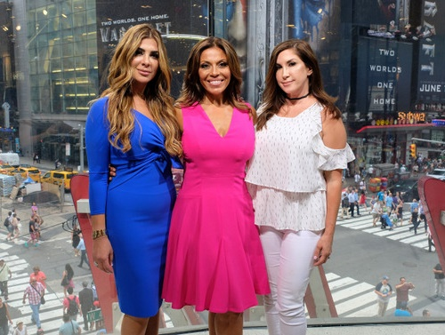 Jacqueline Laurita, Siggy Flicker, Dolores Catania