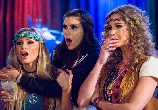 Tamra, Heather, and Meghan react to Kelly's outburst
