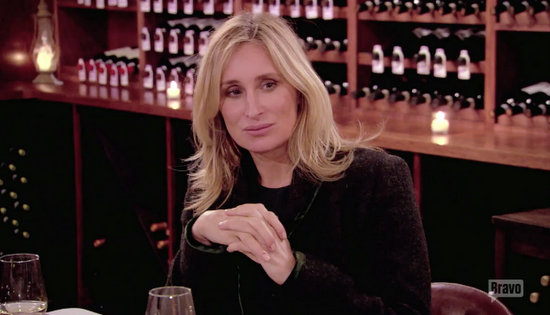 Sonja reacts to Luann's ring