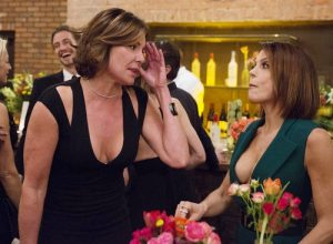 Bethenny Frankel and Luann de Lesseps
