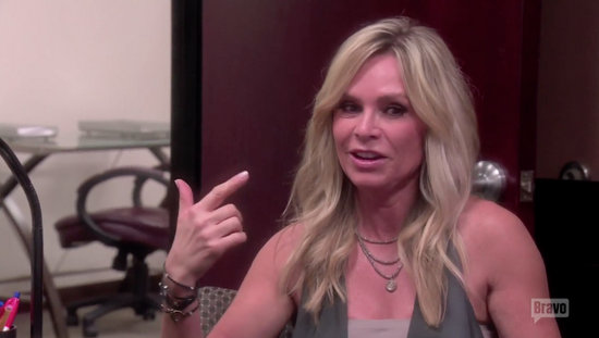 Tamra talks That 70's Party