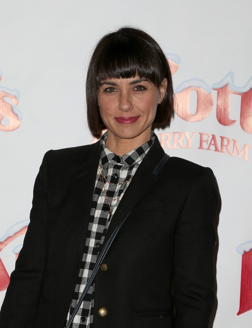 Knott's Berry Farm's Countdown To Christmas And Snoopy's Merriest Tree Lighting Featuring: Constance Zimmer Where: Buena Park, California, United States When: 05 Dec 2015 Credit: FayesVision/WENN.com