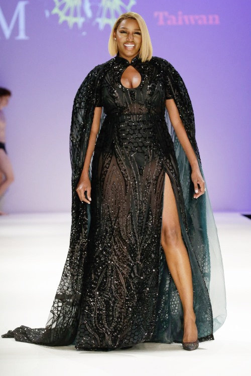 New York Fashion Week - NeNe Leakes in Malan Breton