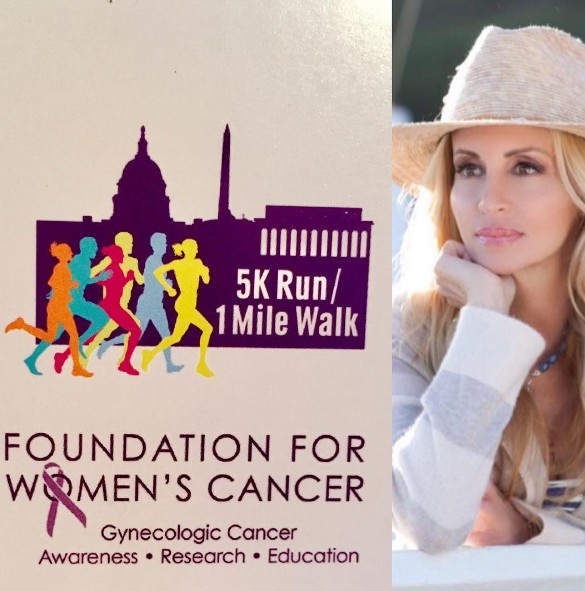 Camille-Grammer-Womens-Cancer-Run