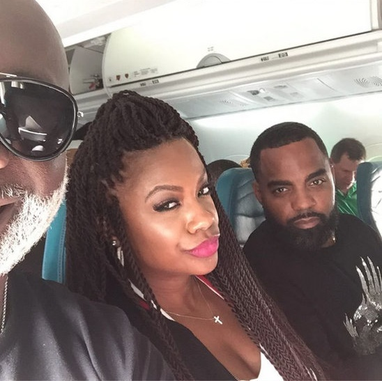 Real Housewives of Atlanta Kandi Burruss Hawaiin Airlines
