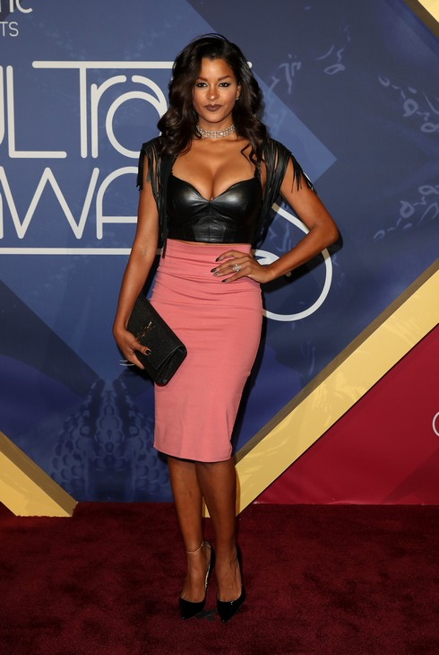 Soul Train Awards 2016 Red Carpet Arrivals at The Orleans Arena in Las Vegas Featuring: Claudia Jordan Where: Las Vegas, Nevada, United States When: 07 Nov 2016 Credit: Judy Eddy/WENN.com