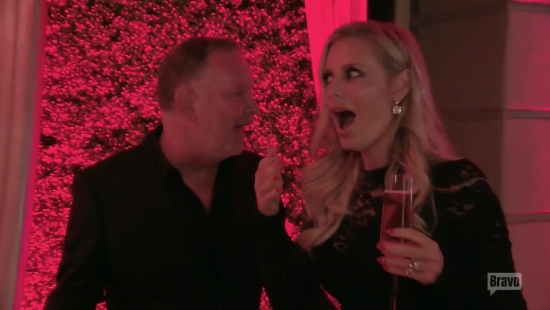 PK surprises Dorit with a Buddha lounge