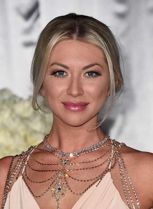 LOS ANGELES, CA - FEBRUARY 02: TV personality Stassi Schroeder attends the premiere of Universal Pictures' 'Fifty Shades Darker' at The Theatre at Ace Hotel on February 2, 2017 in Los Angeles, California. (Photo by Alberto E. Rodriguez/Getty Images)