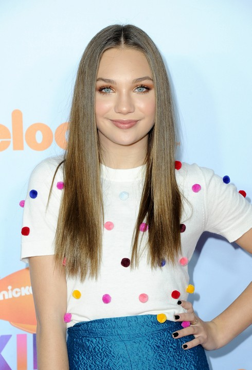 LOS ANGELES, CA - MARCH 11: Actor Maddie Ziegler at Nickelodeon's 2017 Kids' Choice Awards at USC Galen Center on March 11, 2017 in Los Angeles, California. (Photo by Jon Kopaloff/FilmMagic)