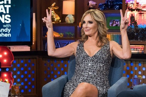 WATCH WHAT HAPPENS LIVE WITH ANDY COHEN -- Episode 14070 -- Pictured: Sonja Morgan -- (Photo by: Charles Sykes/Bravo)