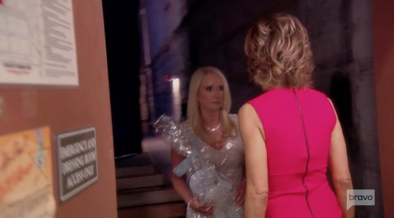 LIsa is done talking to Kim Richards
