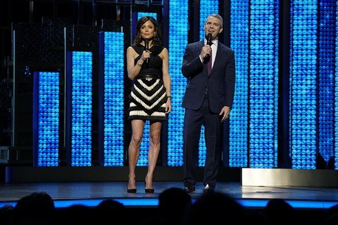 NBCUNIVERSAL UPFRONT EVENTS -- 2017 NBCUniversal Upfront in New York City on Monday, May 15, 2017 -- Pictured: (l-r) Bethenny Frankel,
