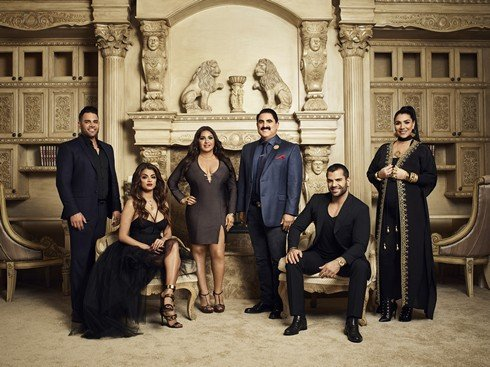 SHAHS OF SUNSET -- Season:6 -- Pictured: (l-r) Mike Shouhed, Golnesa