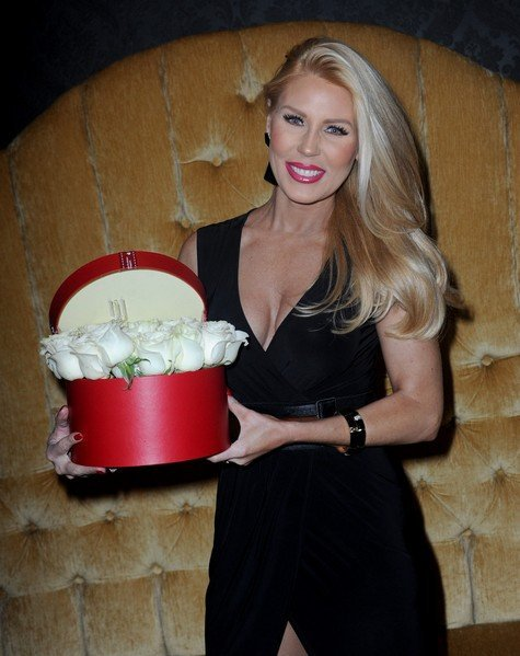 NEWPORT BEACH, CA - FEBRUARY 19: Reality TV star Gretchen Rossi attends the Amare Magazine's Winter Soiree 3rd Issue Launch held at EnVy Lounge on February 19, 2017 in Newport Beach, California. (Photo by Albert L. Ortega/Getty Images)