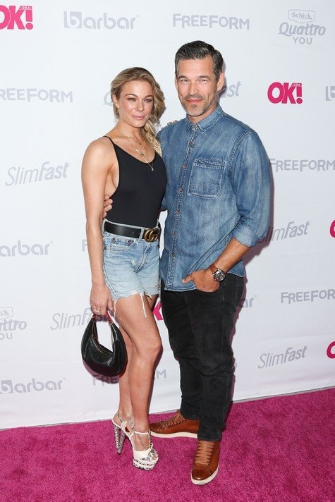 HOLLYWOOD, CA - MAY 17: Singer LeAnn Rimes (L) and Actor Eddie Cibrian (R) attend OK! Magazine's Summer kick-off party at The W Hollywood on May 17, 2017 in Hollywood, California. (Photo by Paul Archuleta/FilmMagic)