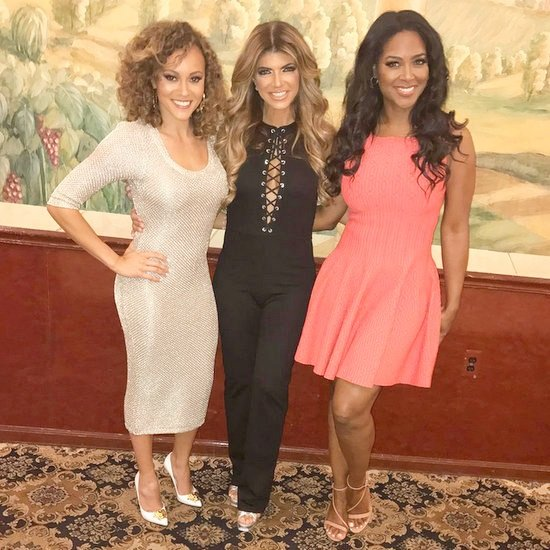 Kenya Moore, Ashley Darby, and Teresa Giudice