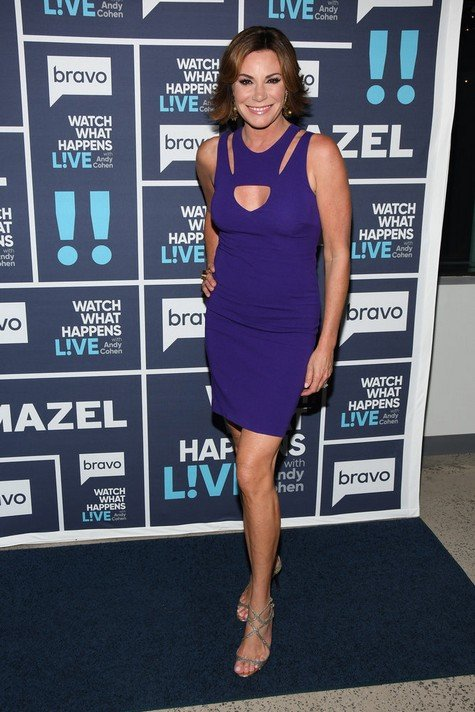 WATCH WHAT HAPPENS LIVE WITH ANDY COHEN -- Episode 14121 -- Pictured: Luann D'Agostino -- (Photo by: Charles Sykes/Bravo)