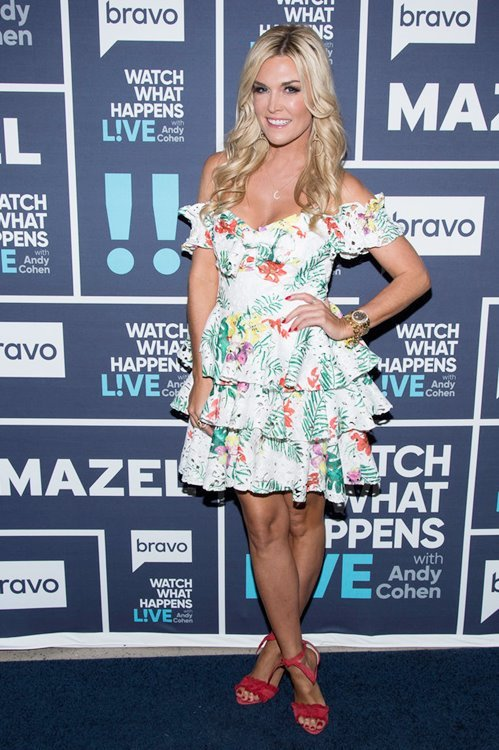 WATCH WHAT HAPPENS LIVE WITH ANDY COHEN -- Episode 14126 -- Pictured: Tinsley Mortimer -- (Photo by: Charles Sykes/Bravo)
