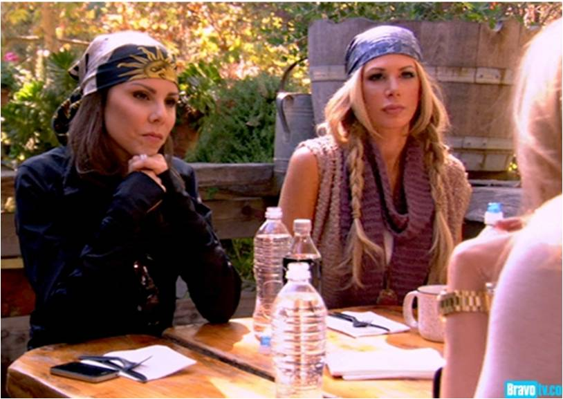 Heather Dubrow & Alexis Bellino Glamping