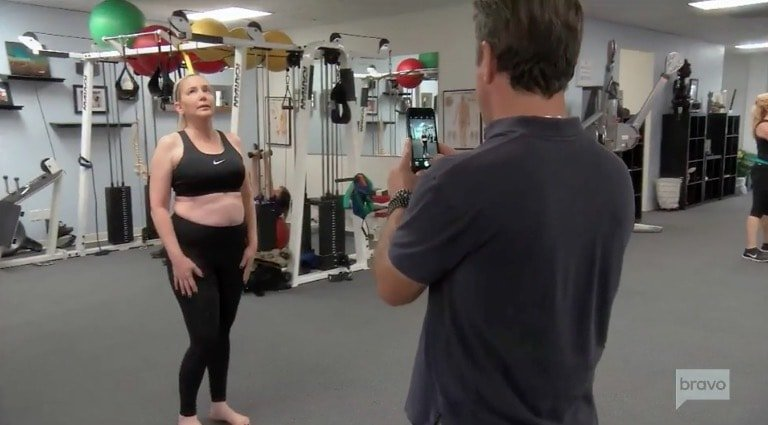 Shannon addresses her weight gain