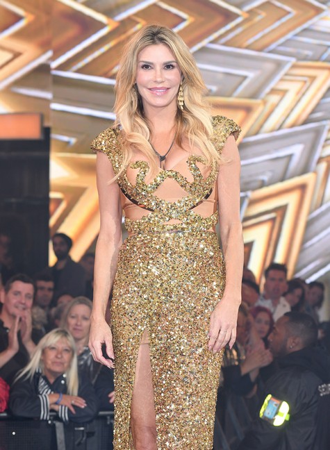 BOREHAMWOOD, ENGLAND - AUGUST 18: Brandi Glanville is evicted from the Celebrity Big Brother House at Elstree Studios on August 18, 2017 in Borehamwood, England. (Photo by Karwai Tang/WireImage)