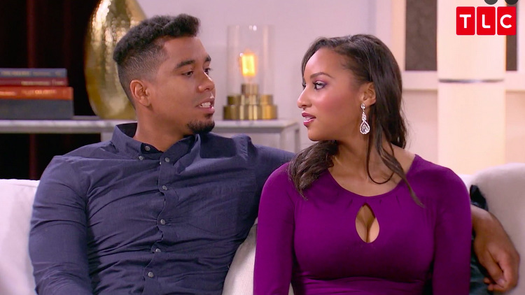 Pedro-Chantel-Burgundy-Dress-Reunion-90-Day-Fiance