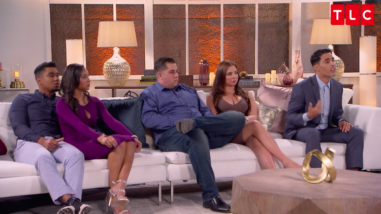 Pedro-Chantel-Jorge-Anfisa-Mohamed-Yelling-Couch-Reunion-90-Day-Fiance