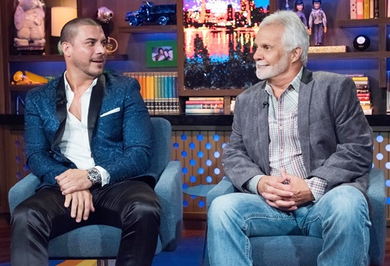 Jax Taylor and Captain Lee on WWHL