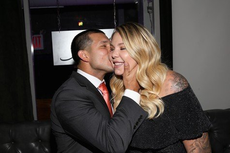 NEW YORK, NY - OCTOBER 12: Javi Marroquin and Kailyn Lowry attend the exclusive premiere party for Marriage Boot Camp Reality Stars Season 9 hosted by WE tv on October 12, 2017 in New York City. (Photo by Bennett Raglin/Getty Images for WE tv)