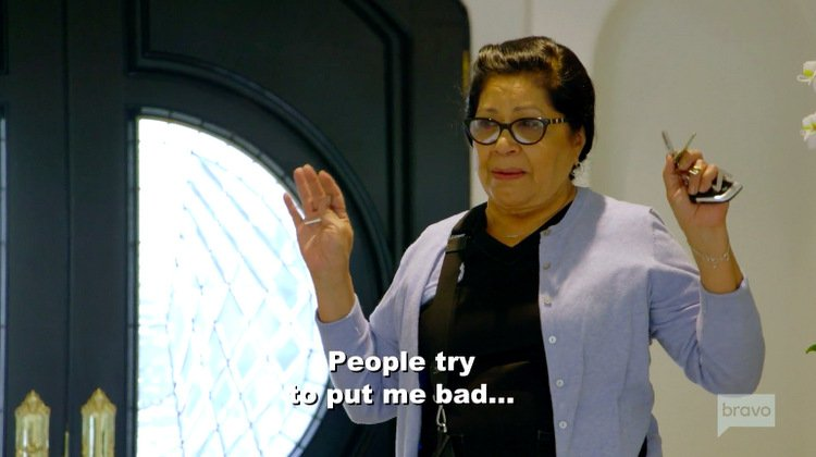 Zoila-Chavez-Blue-Cardigan-Making-Me-Bad-Quote-Flipping-Out