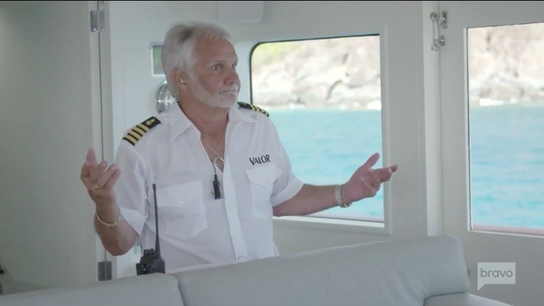 Captain Lee is furious