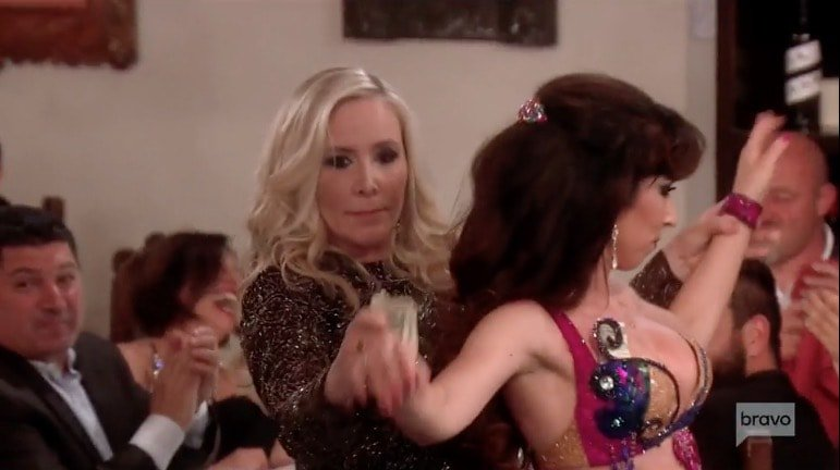 Shannon & the belly dancer
