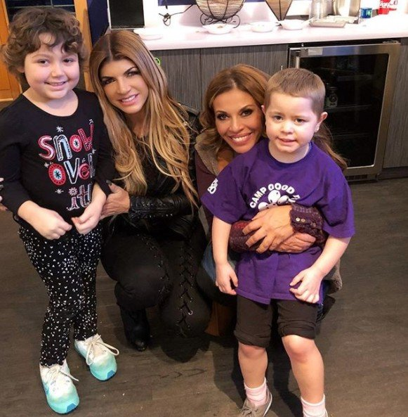 Teresa Giudice & Dolores Catania Attend Charity Events For Families Affected By Cancer- Photos