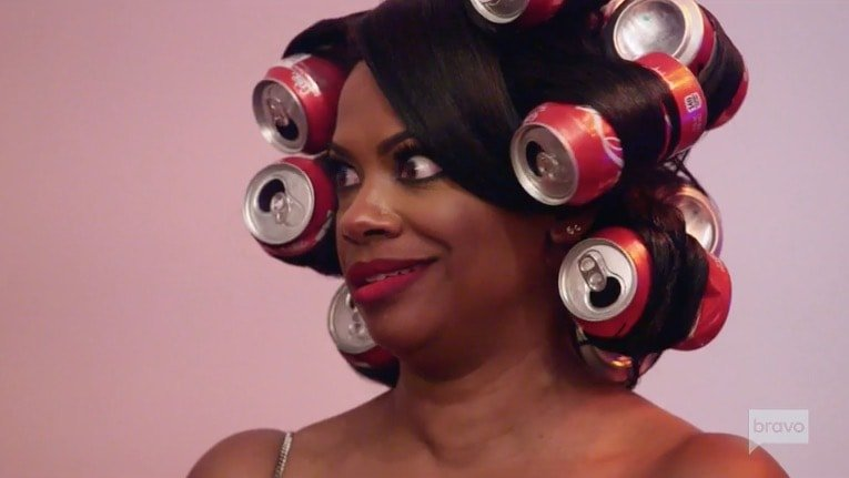 Kandi is not cordial with Porsha