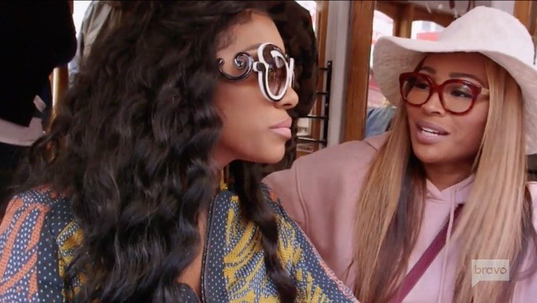 Cynthia gives Porsha advice about dealing with NeNe